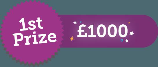 1st Prize £1000