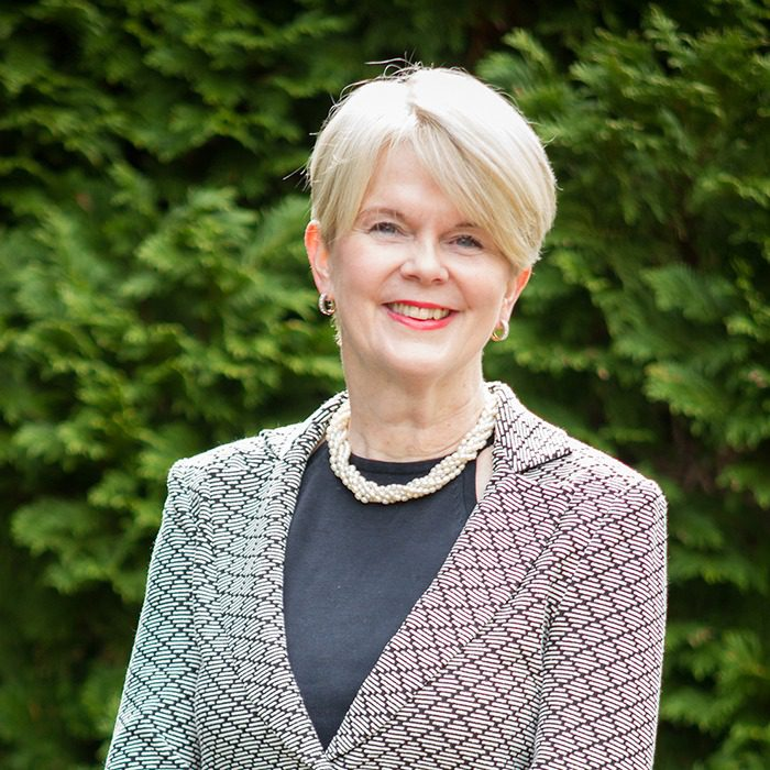 Dr Cathryn Edwards, Chairman of the Board of Trustees
