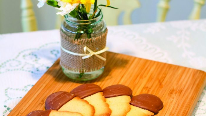 Rowcroft Big Bake - Shortbread with chocolate