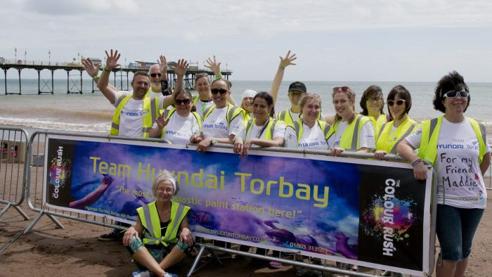 Hyundai Torbay Volunteers