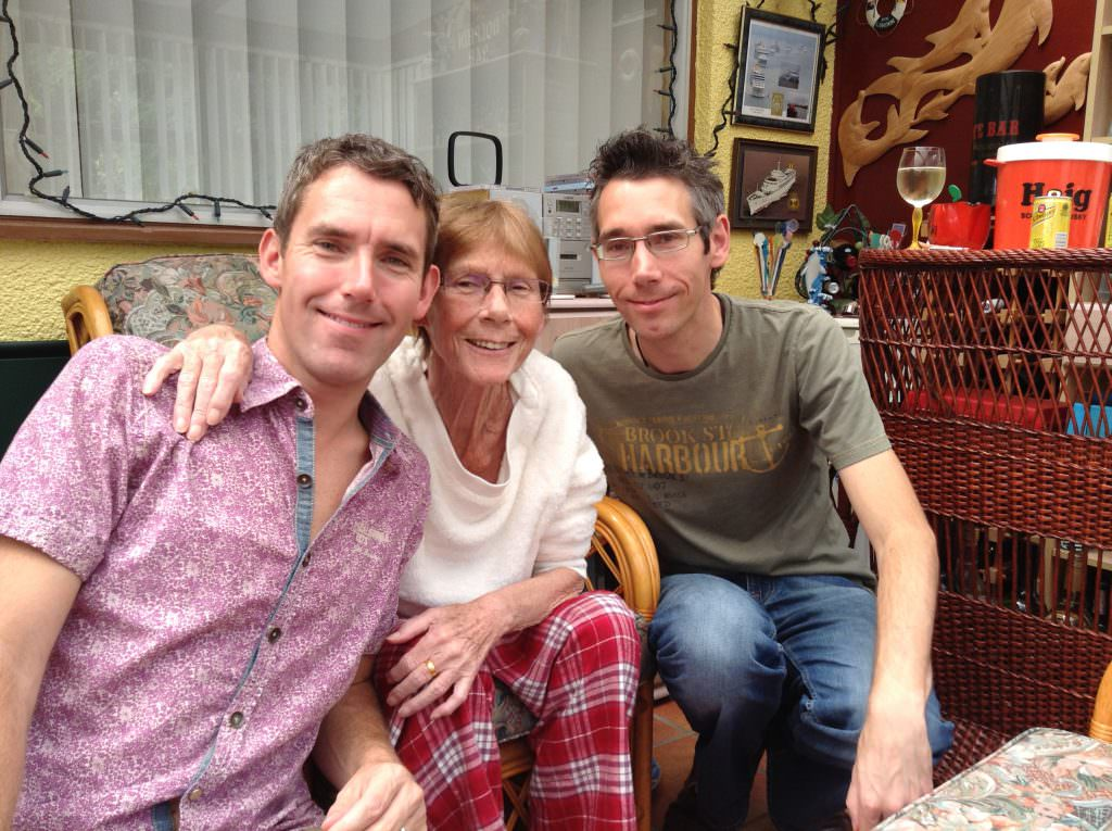Guest Blog - Dean Elson with Mum and Brother