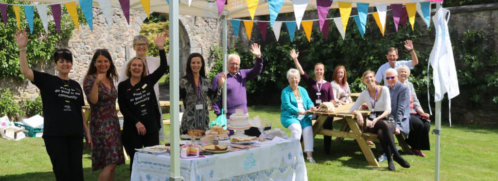 M&S Sponsor Big Bake with cakes, new benches and staff support