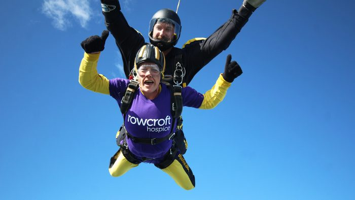 Rowcroft Hospice Skydive