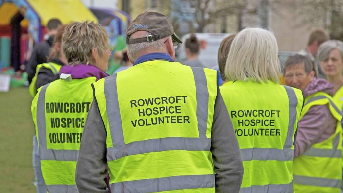 Rowcorft Hospice Volunteer
