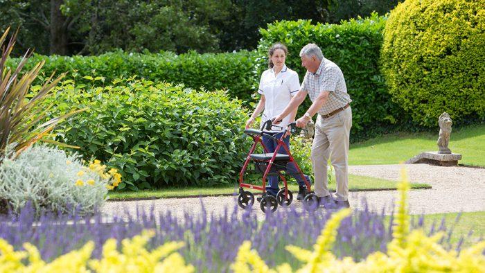 Rowcroft Hospice Care Garden
