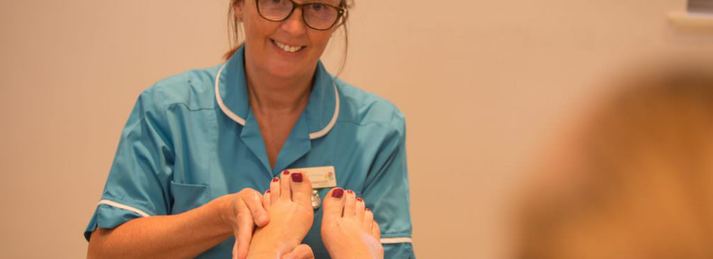 Rowcroft Hospice Complimentary Therapy - Foot Massage