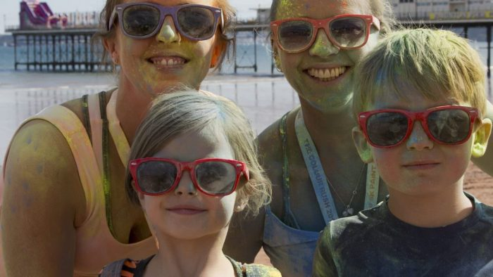 The Colour Rush Family Fun