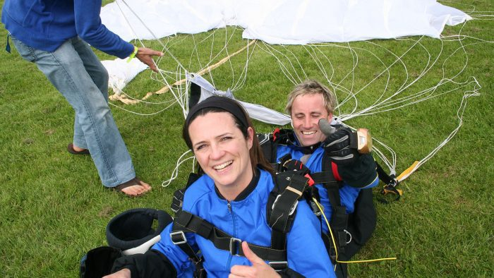 Rowcroft Hospice Skydive 15,000ft